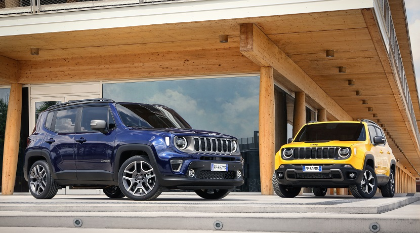 Jeep Renegade 2019 Limited finish and